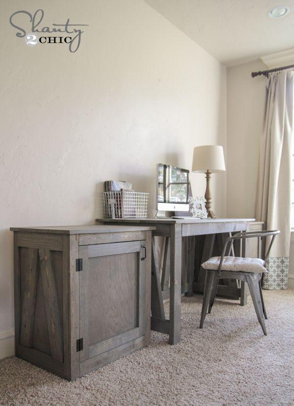 Free Woodworking Plans DIY Desk Or Nightstand DIY Wood Projects Best Bedroom Desk Furniture Model Plans