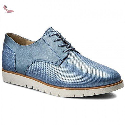 GDerby Bleu Eu Femme Geox Bleu38 Chaussures D Kookean HWD9E2IY