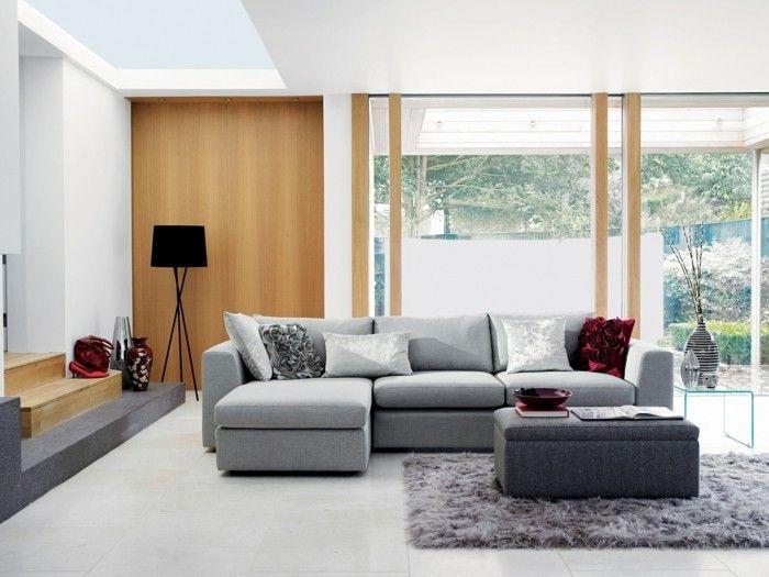 Farbideen Wohnzimmer: Grau für Stil, Stabilität und Harmonie | Ev ...