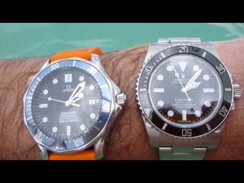 3cb42b49b3e Rolex Submariner vs. Omega Seamaster. Is the Rolex Submariner or Omega  Seamaster 300m a