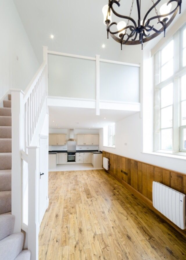 Best Stunning White Staircase With Glass Balustrades White 400 x 300