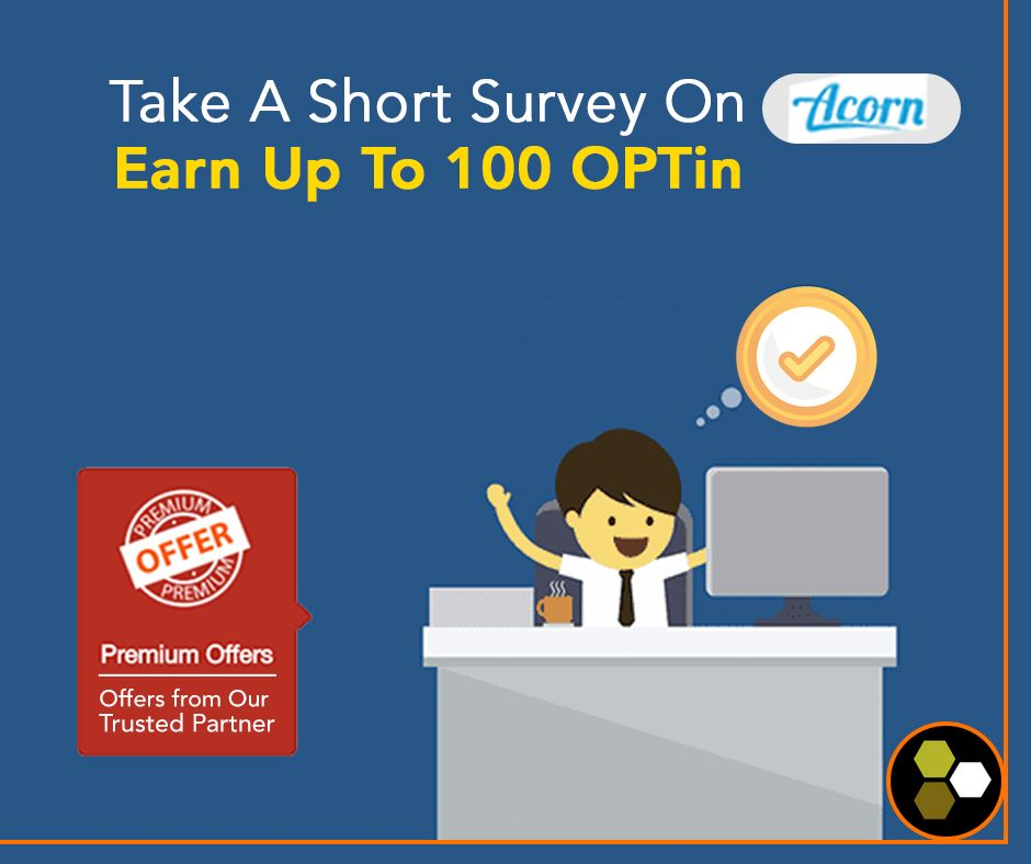 Acorn Is The Best Way To Get Paid Online By Simply