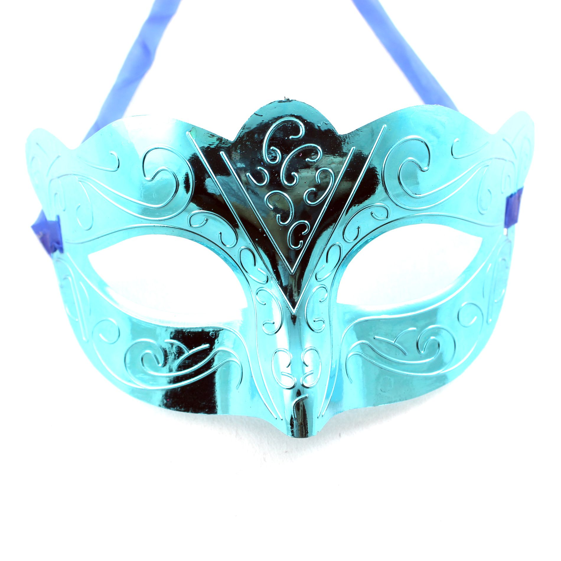 Brilliant Blue Costume Venetian Masquerade Mask Women/Men for Party ...