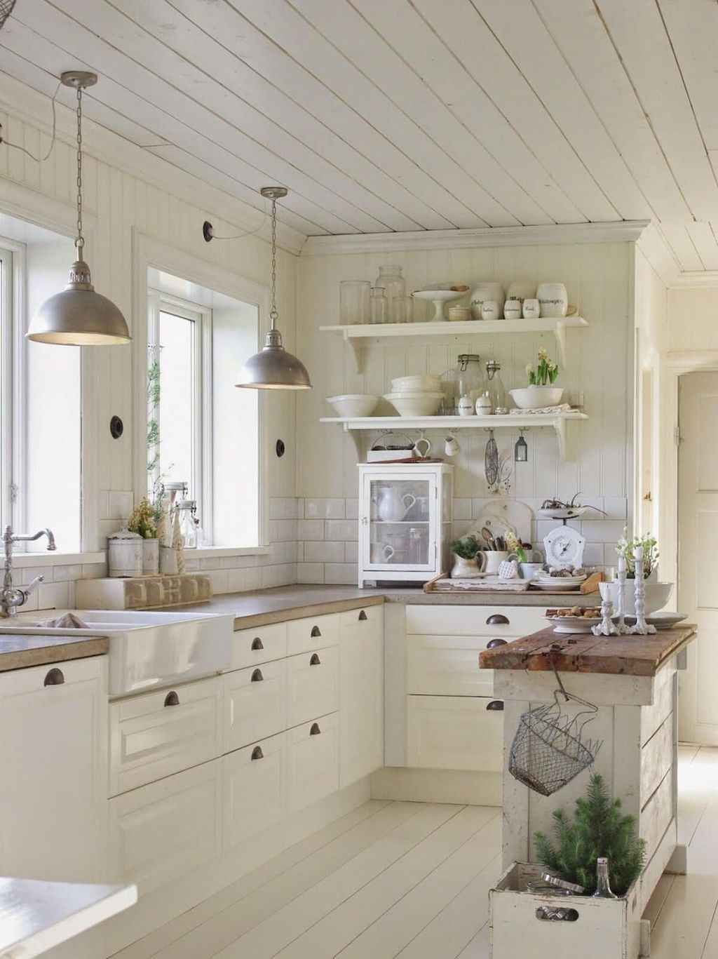01 Beautiful French Country Kitchen Decor Ideas - homixover.com