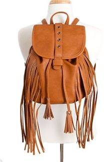 Mini Fringe Backpack Purse LT643