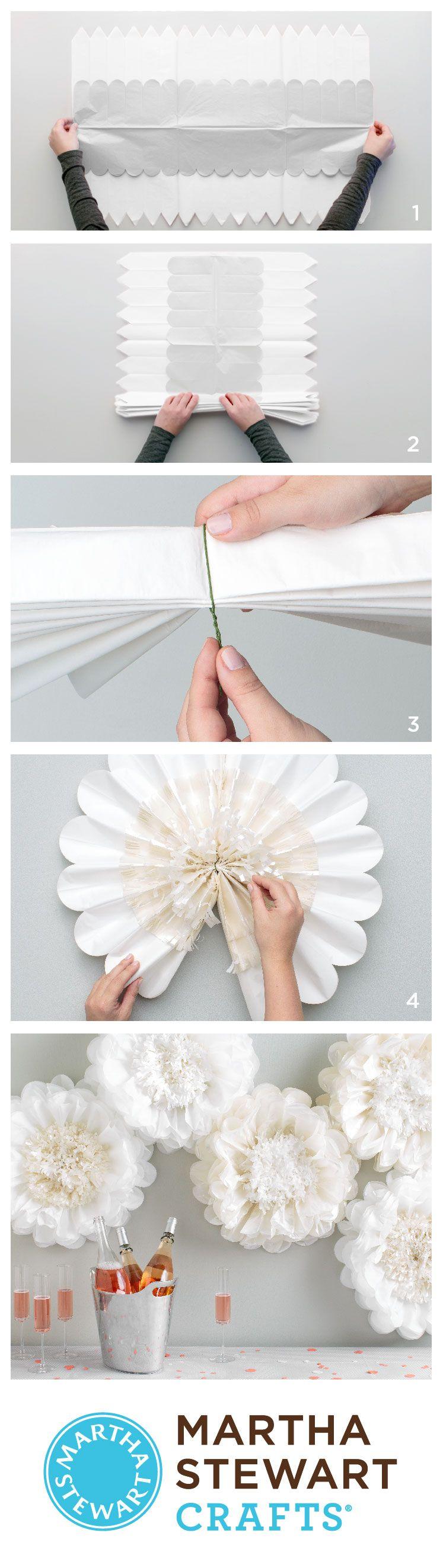 It\'s a pom-pom party with Martha Stewart Crafts Flower Pom-Poms ...