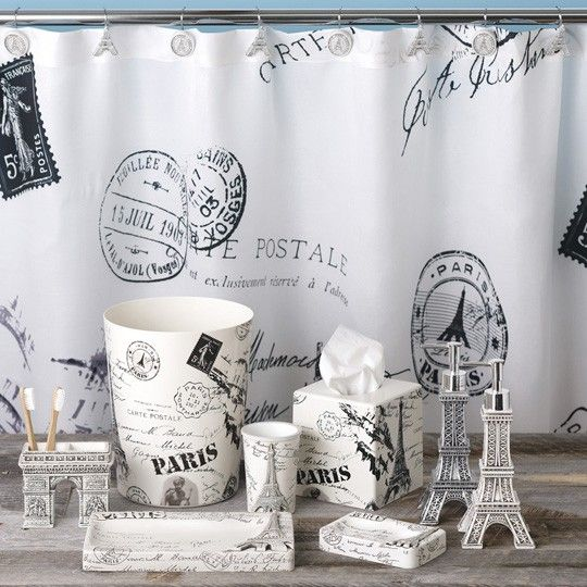 paris themed bathroom accessories  pcd homes, Home design