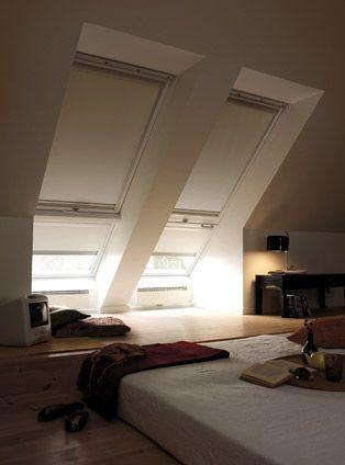 Verdunkelungs Rollos Mit Bildern Dachschrage Fenster
