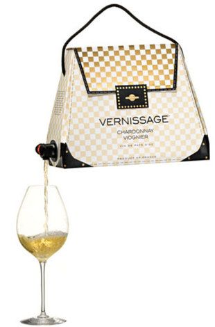 Sweden Brand Vernissage S Handbag Shaped Box Of Wine Boxed Just Got A Little Classier