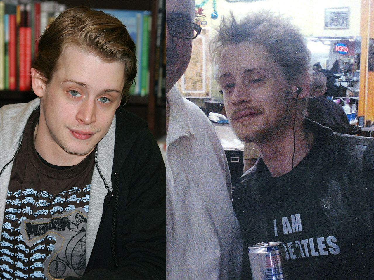 macaulay culkin: famous faces ruined by drugs | health | pinterest