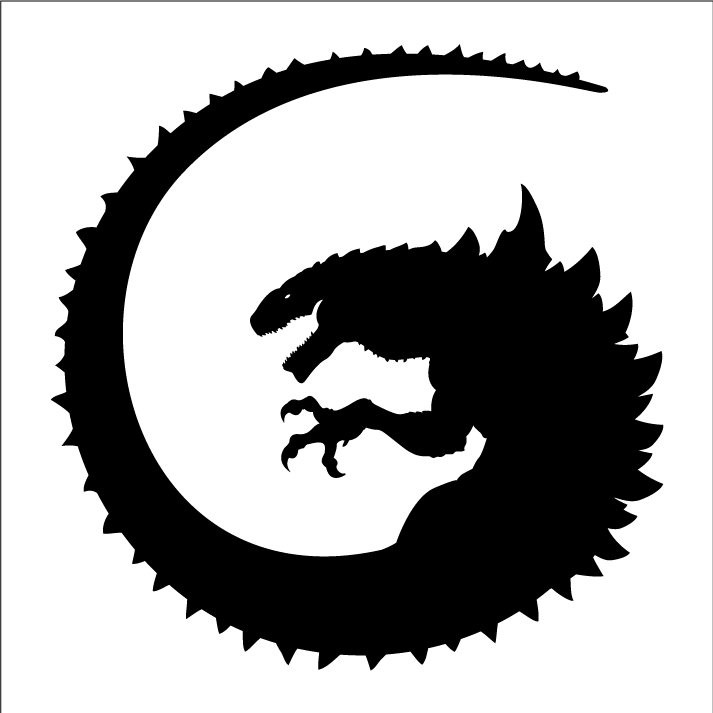 Gino Logo Kaiju Monsters Godzilla Comics Kaiju Art