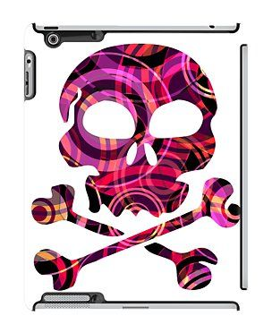 SKULL-P5 iPad Case by Pia Schneider [atelier COLOUR-VISION] #art #abstract #design #graphicdesign #geometric #colourful #vector #vectorart #piaschneider #ateliercolourvision #modern #pattern #elegant #modern #unique #red #purple #yellow #black #salmon #violet #atmospheric #circledesign #skullshape #skull #cool #red #purple #pink #ipadcase #cases #ipadcover