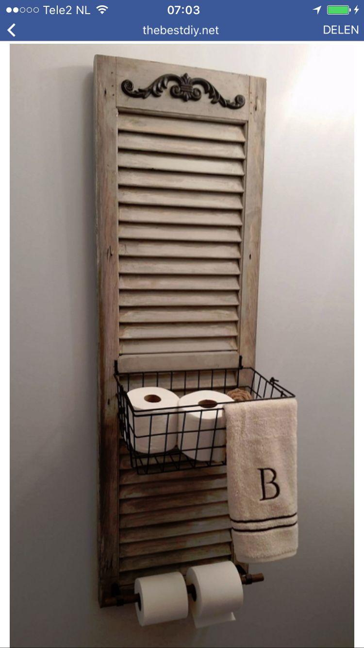 Toiletidee of voor woonkamer/keuken | shutters | Pinterest