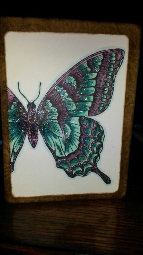 Hand colored