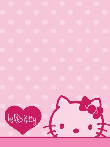 Hello Kitty Pink Face Hello Kitty Wallpaper Hello Kitty Iphone Wallpaper Kitty Wallpaper