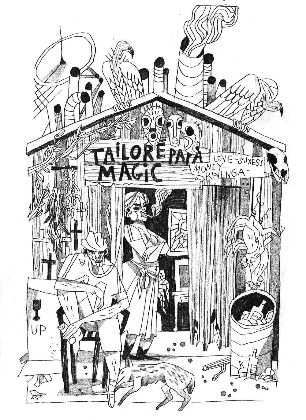 papa magik / ORIGINAL via le shop de tarmasz. Click on the image to see more!
