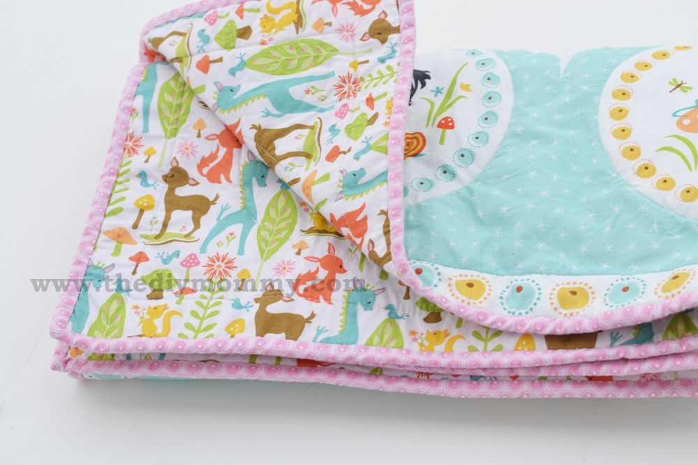 Sew an Easy Beginner's Baby Quilt by The DIY Mommy | Craft Ideas ... : baby quilt diy - Adamdwight.com