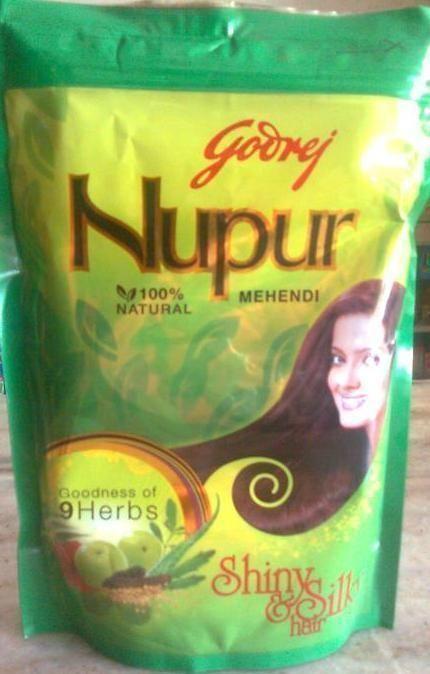 3 X Nupur Henna Powder Pack Hair Color Hair Conditioner Hair Care