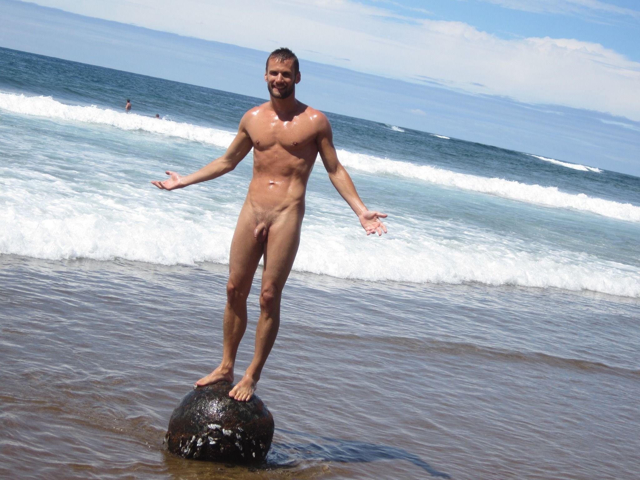 Man nude swimming 9