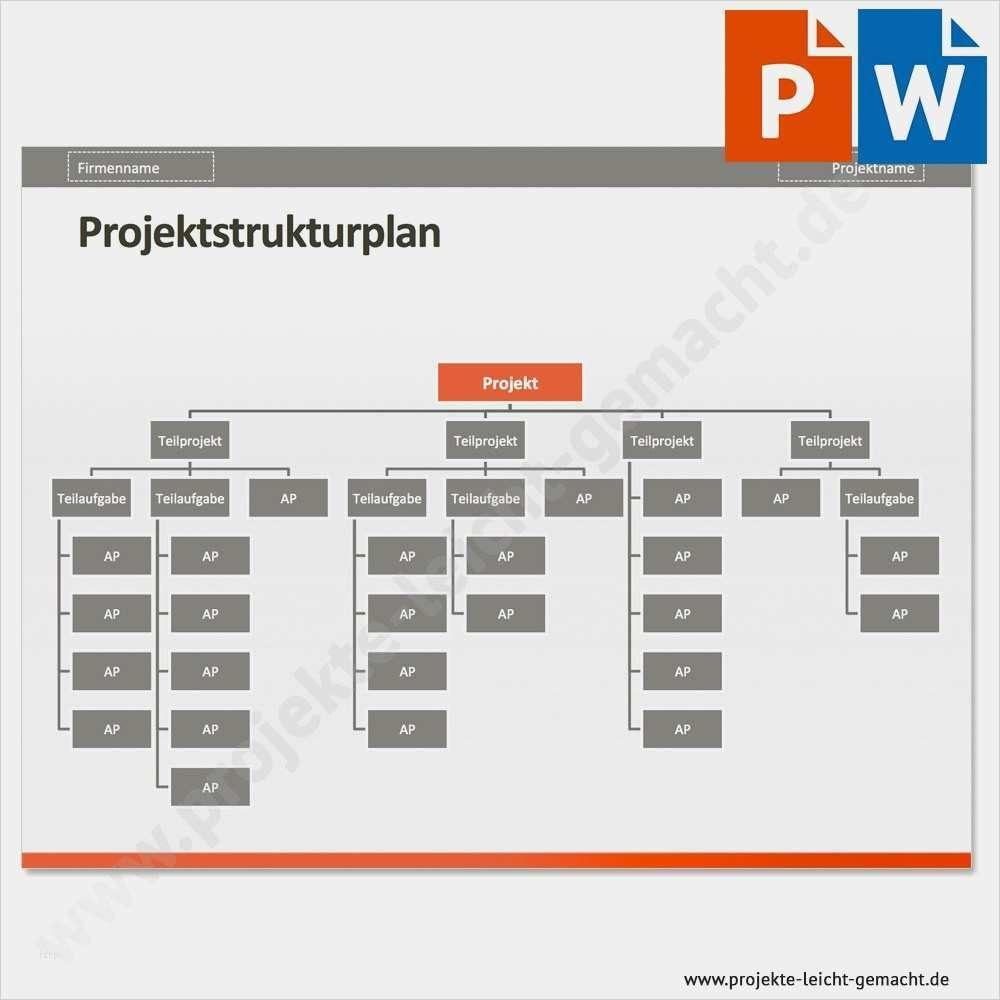 Projektmanagement Paket Details Projektstrukturplan 3