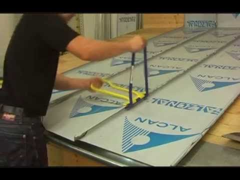 The Rau 111 Wfsch Single Lock Hand Seamer Closing A Roof Panel Roof Panels Gutter Tool Roof