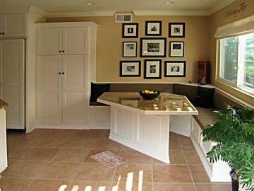 Kitchen Cabinets Ideas kitchen nook cabinets : 17 Best images about Home Remodel: Kitchen on Pinterest | Nooks ...