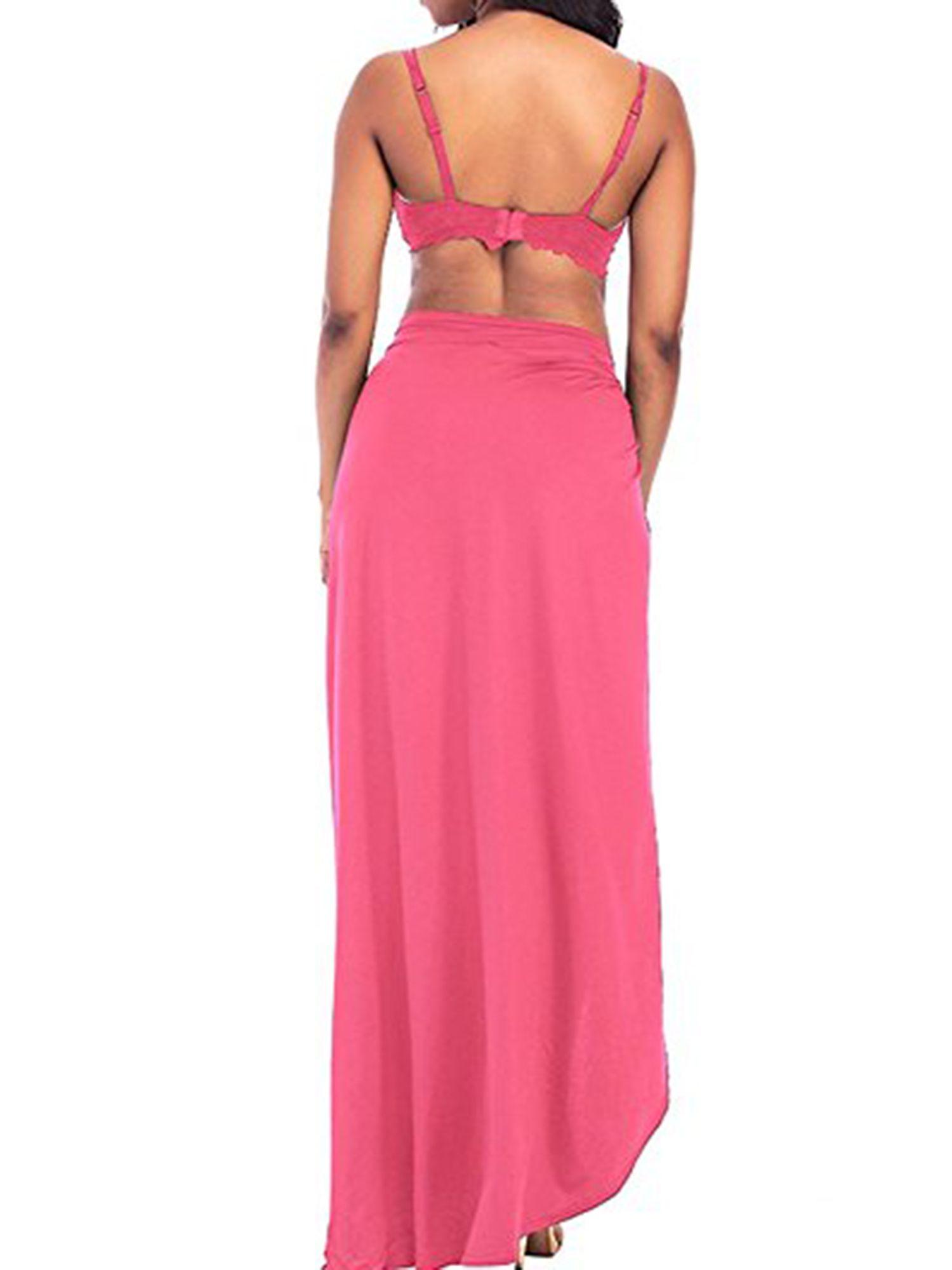 fac31d141b03f Plus Size Women's Spaghetti Strap Beach Dresses Cover Up Bikini Cover Up  Wrap Swimsuit V-Neckline Backless Long Dress#Beach, #Dresses, #Cover