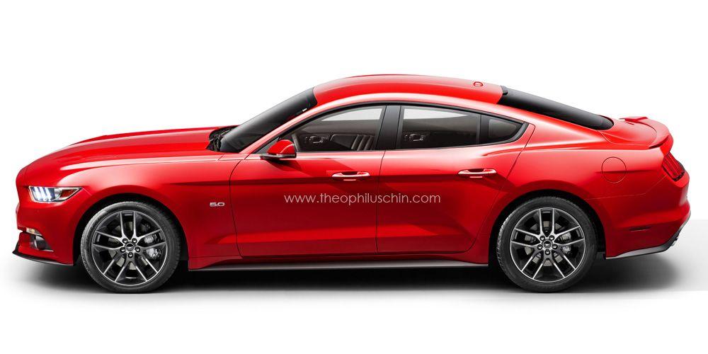 2015 Ford Mustang Sedan Concept Mustang 2015 Ford Mustang Ford Mustang