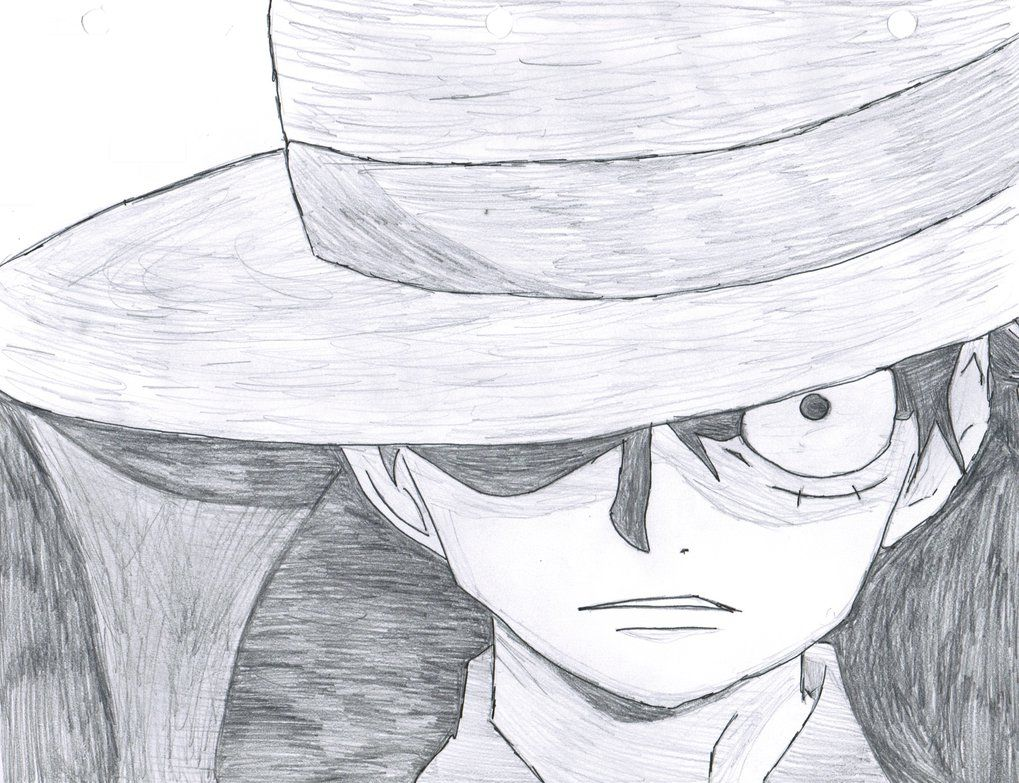one piece luffy drawing Gallery One piece drawing
