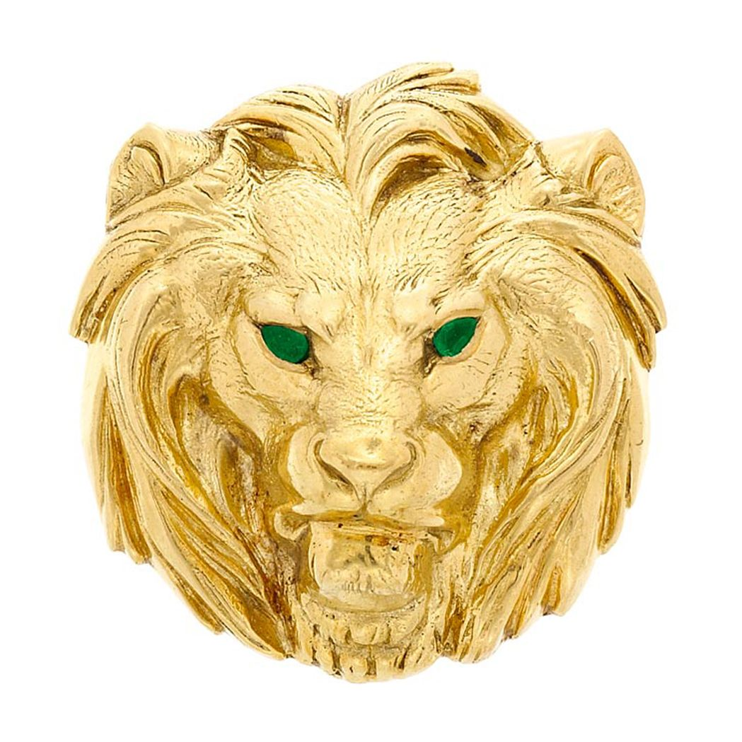 Greenandgold cartier gold and emerald lion head pendant brooch greenandgold cartier gold and emerald lion head pendant brooch cartier aloadofball Choice Image