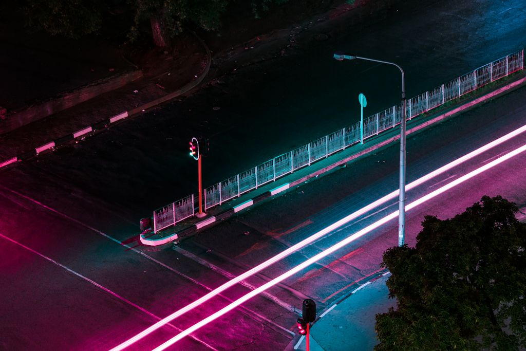 Neon Nights, 2016 by Elsa Bleda cyberpunk Japanese city