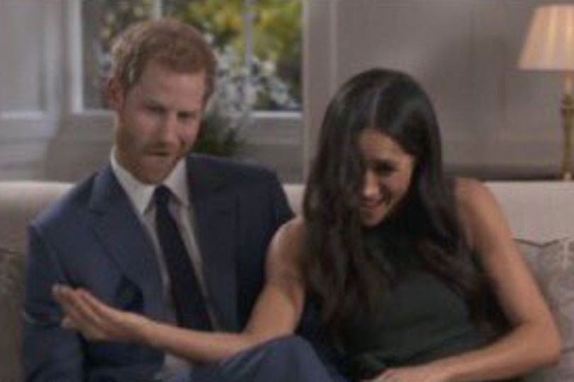 The Happy Couple Were Caught On Camera Joking Around With Each Other Between Takes But There Was N Prince Harry And Megan Prince Harry And Meghan Prince Harry