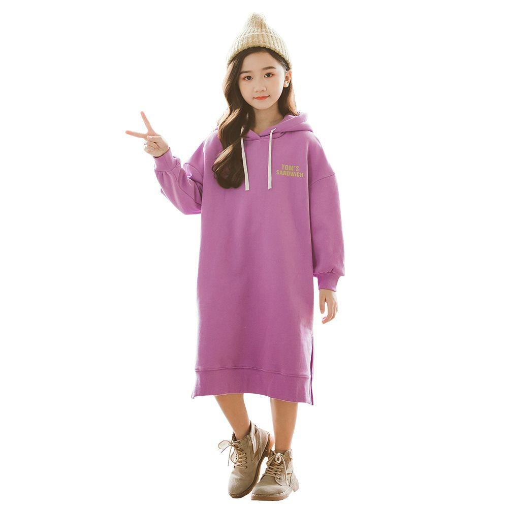 36e1572b33e5 Kids Girls Dress Cotton Long Sleeve Girls Clothing Autumn Winter ...