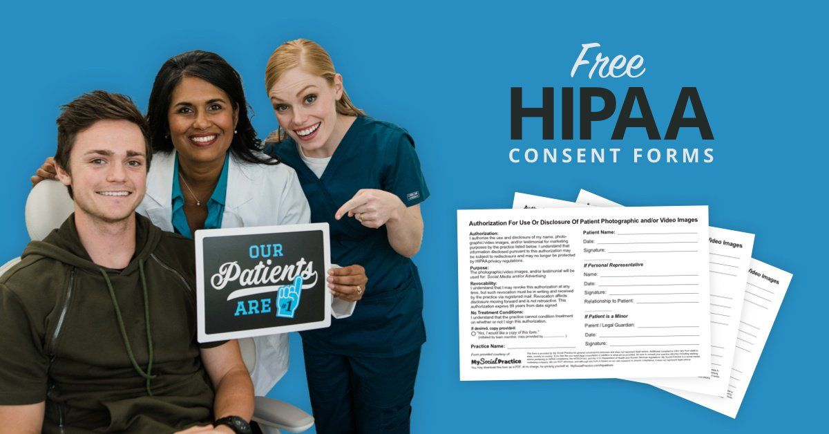 Free Social Media Consent Form Download Dental office Pinterest - consent form