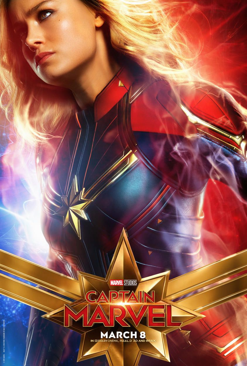 Captain Marvel Character Posters | Carol Danvers, Goose the Cat, & More