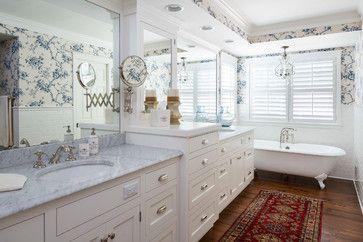 Nautical Lakeside Retreat - beach-style - Bathroom - Other Metro - The Sitting Room