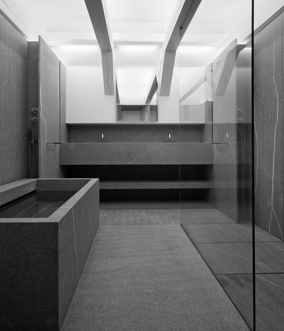 Foto's van een minimalistische badkamer: bathroom | homify