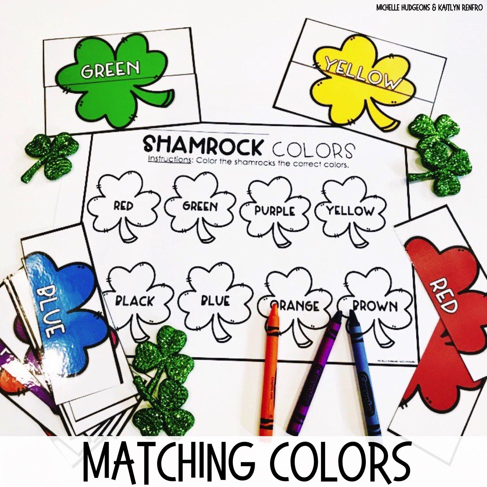 March Activities For Prek Preschool And Kindergarten