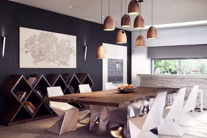 Salle à manger design \u2013 une louchée de styles Pinterest