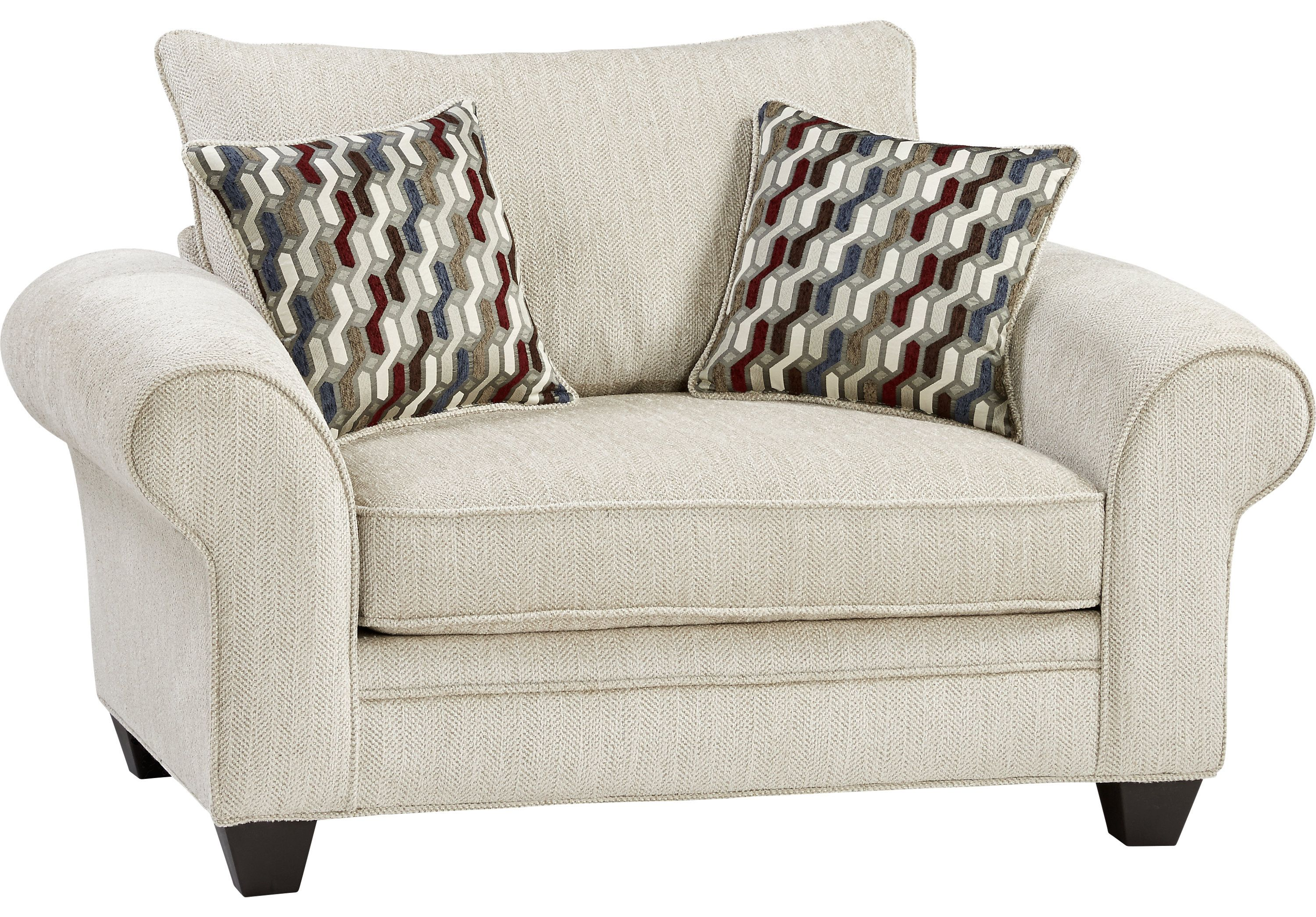 Chesapeake beige chair chairs oversized chair living