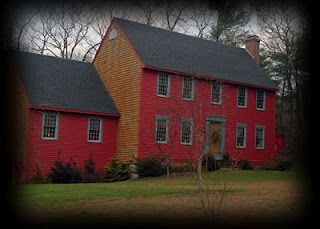My Red Saltbox Colonial House Exteriors Saltbox Houses Red Houses