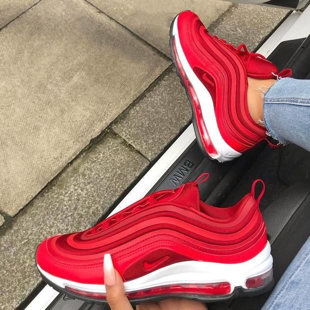 Nike Air Max 97 Yellow Red #shoes