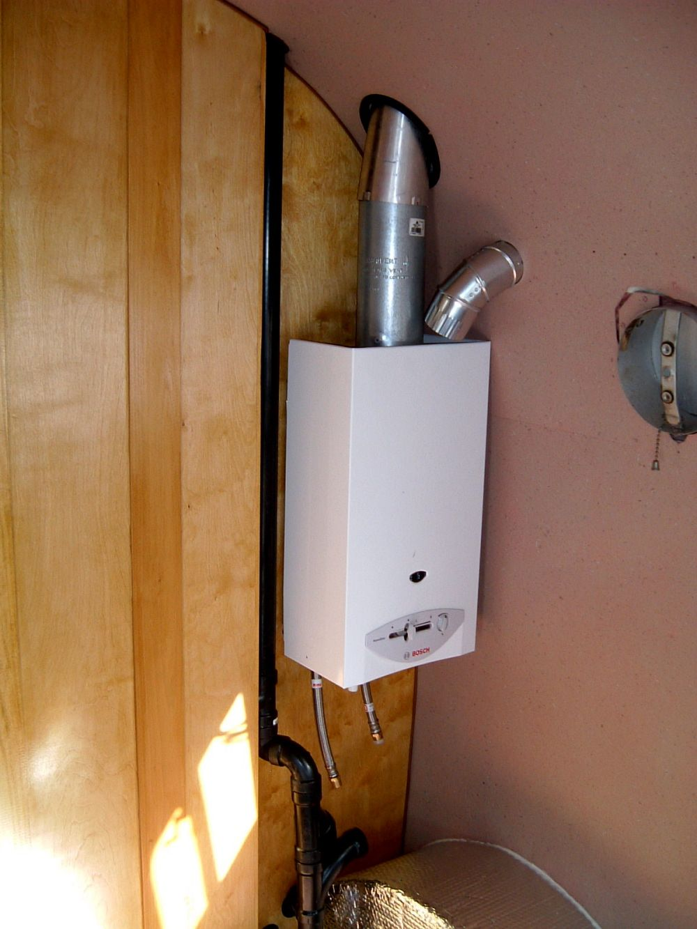 Combination Boiler Tankless Water Heater Installation Water