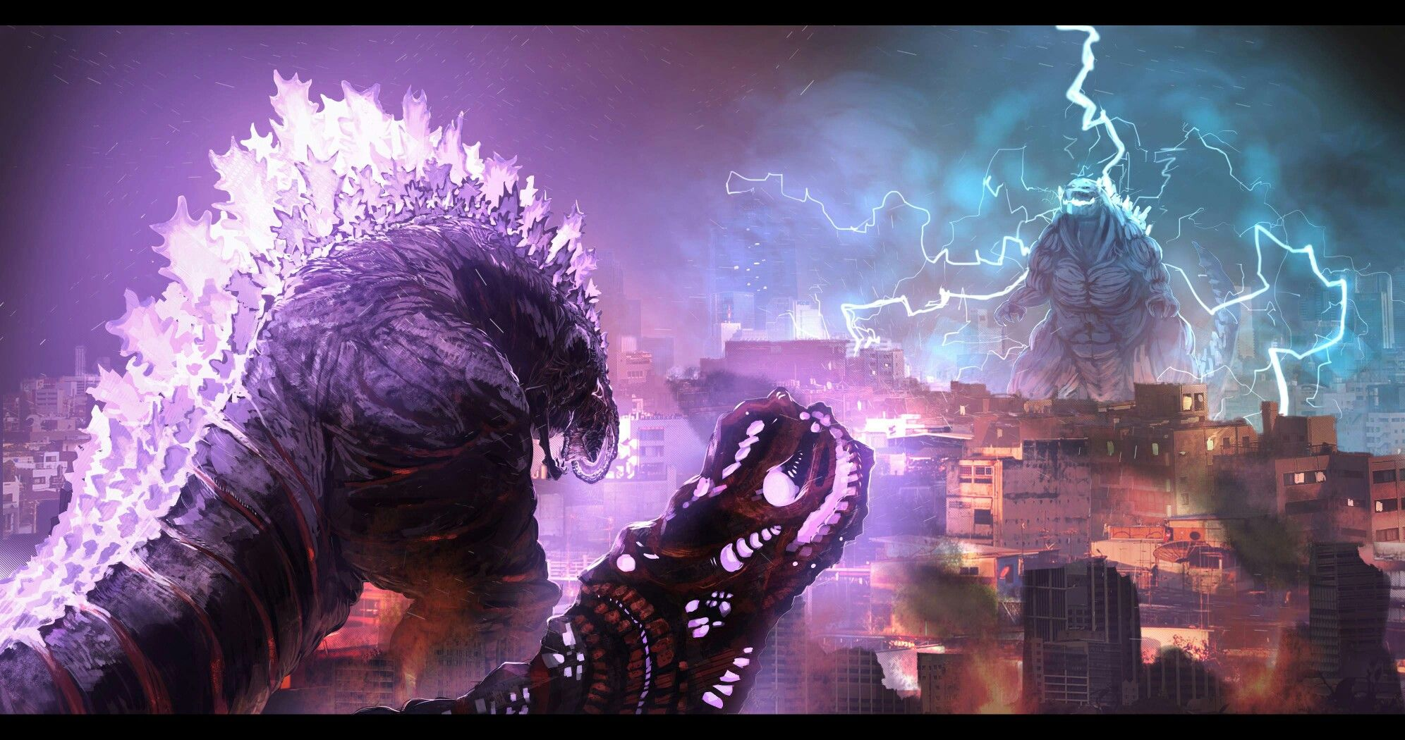 Shin Godzilla Vs Godzilla Earth (Godzilla Earth used to be ...