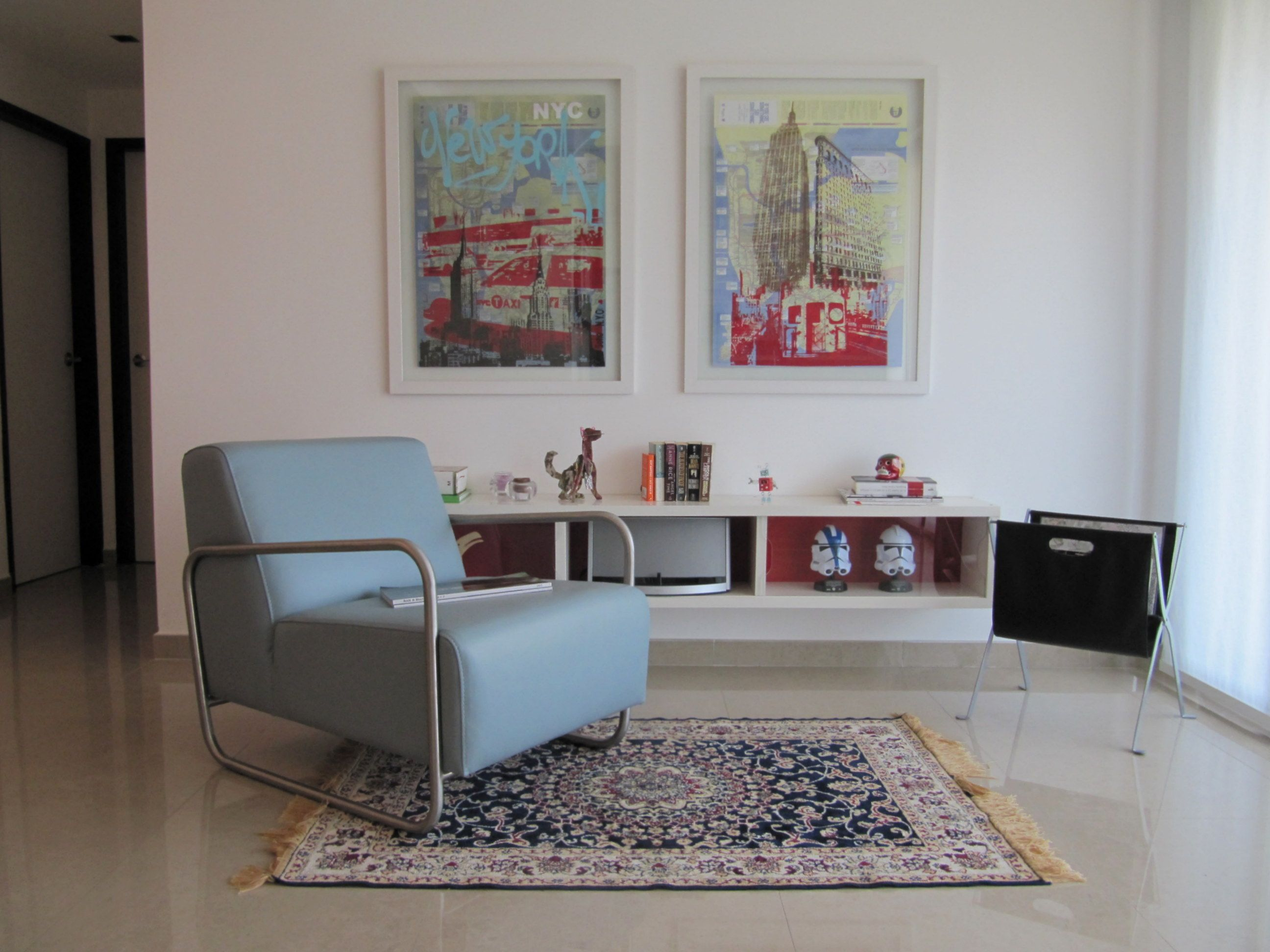Contemporary Living Room 60s Living Chair Zientte Houston Living  # Muebles Zientte