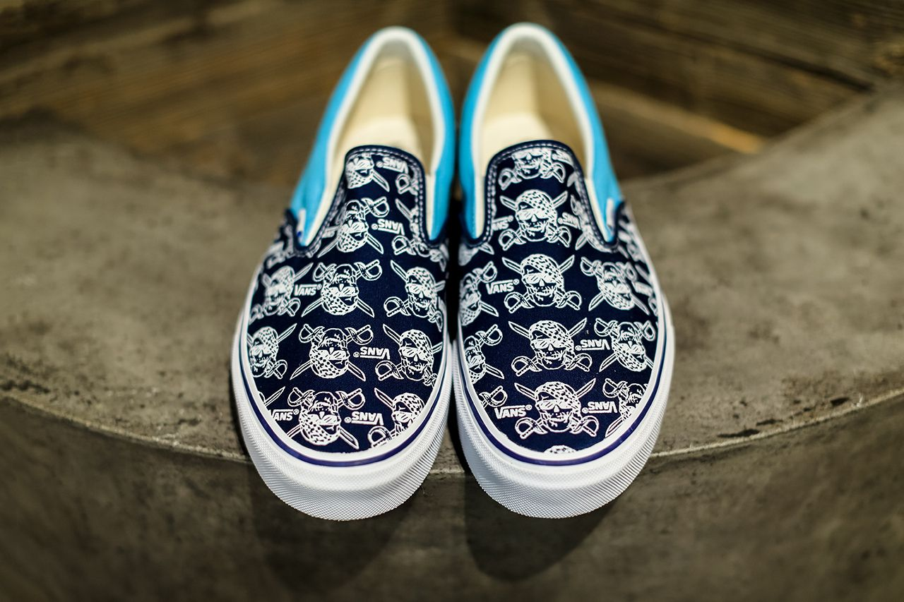 39ba6f49c3 Image of Vans BILLY S ENT Exclusive V98R PIRATES.