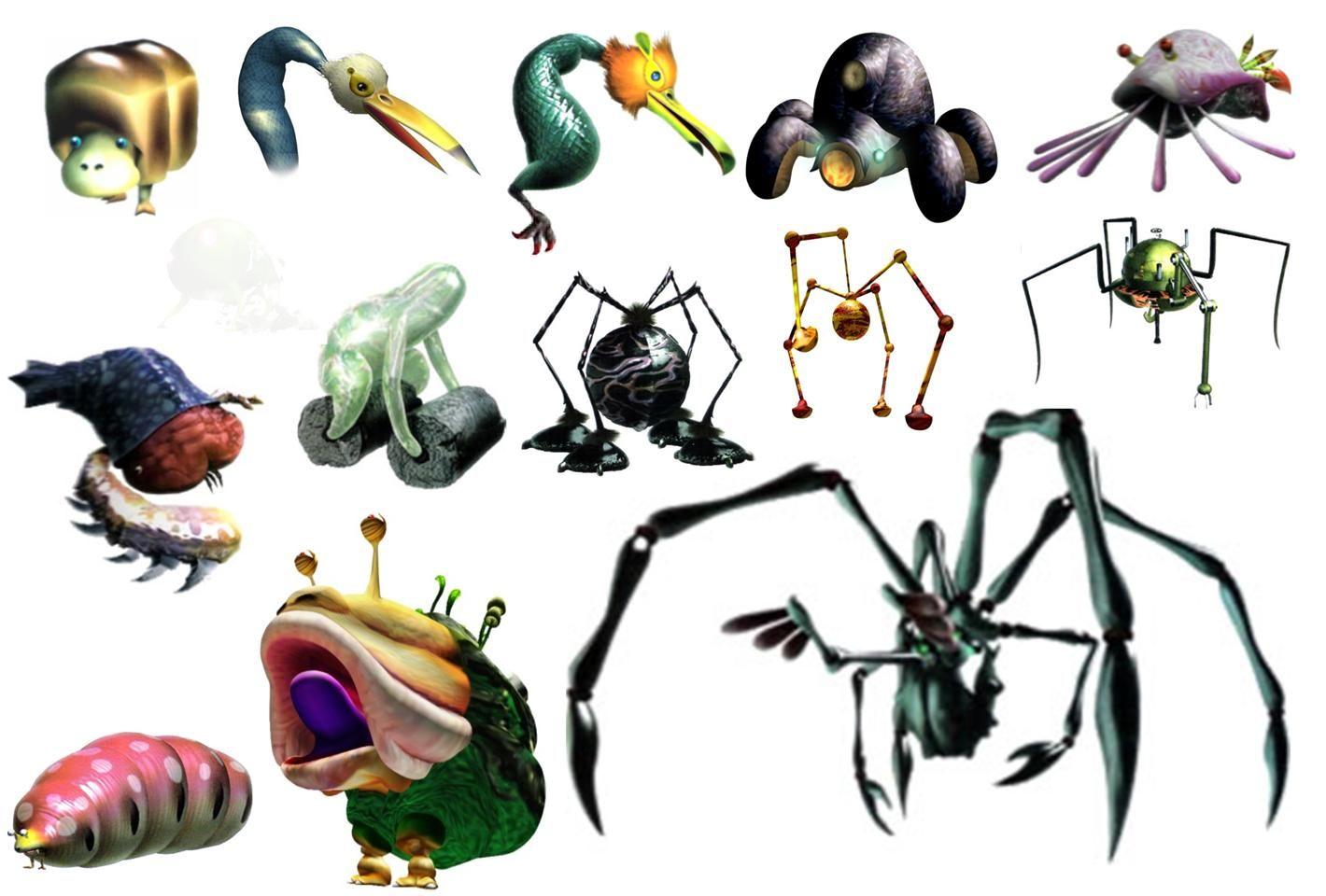 Pikmin 3 Enemies Google Search Enemy Husky Hammer