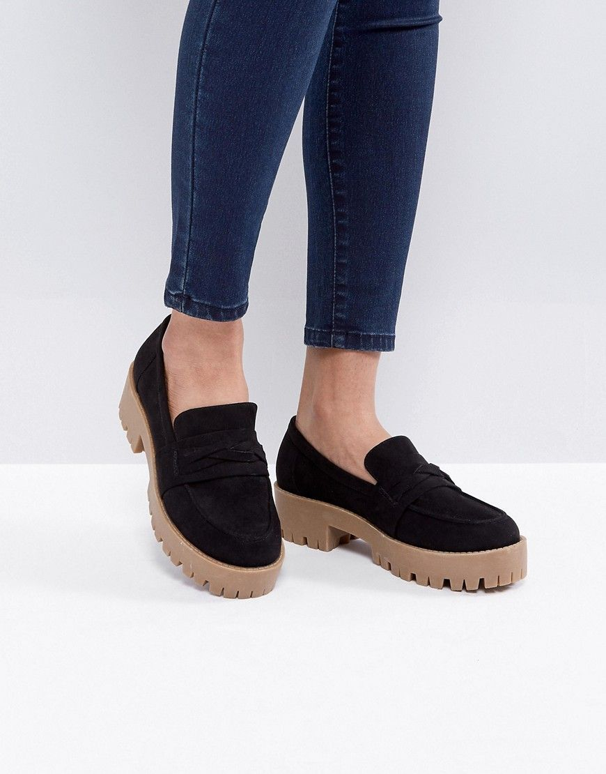 9fb635c60c62 Asos oxo loafer chunky shoes black loafer jpg 870x1110 Oxo shoes