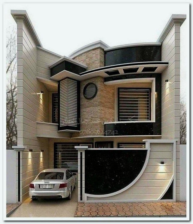 21 Creative Deck Patio Design You Should Try For Your Outdoor Space Deckpatio Deckpatiodesig Bungalow House Design Duplex House Design Modern House Exterior