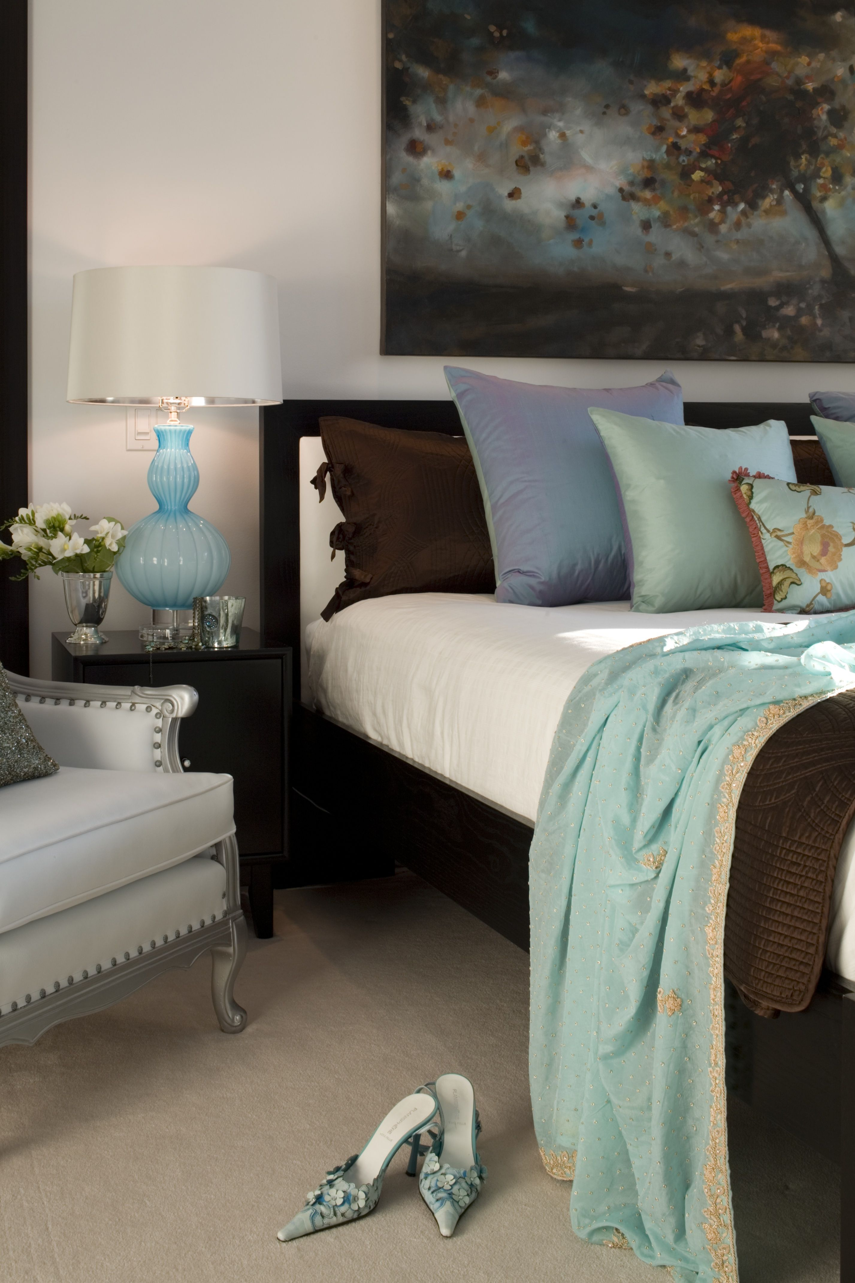 Luxurious Palette Of Tiffany Blue, Rich